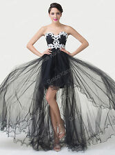 Retro Homecoming Evening Prom Long Party Dress Formal Bridesmaid Ball Celeb Gown