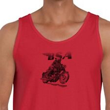 BSA Racing Motorcycles Vintage Bikes T-shirt Golden Flash Classic Men's Tank Top