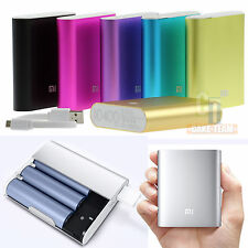 XIAOMI Power Bank 10400mAh Universal Backup Battery USB Charger For Cell Phone