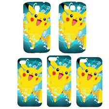 Cute Pokemon Pikachu Design Pattern Hard Case Cover For iPhone Samsung Galaxy