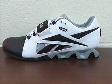 NEW MENS REEBOK CROSSFIT LIFTER SNEAKERS-SHOES-WHITE/BLACK/GREY-VARIOUS SIZES