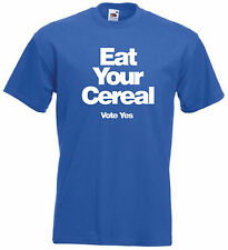 EAT YOUR CEREAL (Yes 2014) T-Shirt - Scotland Scottish Independence - All Sizes