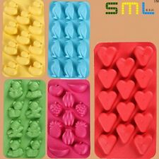 Cute Funny Animal Ice Cube Silicone Mould Tray Jelly Chocolate Cake Party Kids