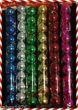 10 pcs 3cm Christmas Tree Decorations Baubles Shiny Ball for Party Decorations
