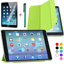 Ultra Slim Smart Hard PU Plastic Back Case Cover For Apple iPad Christmas gift