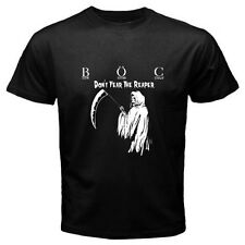 BOC Blue Oyster Cult *Don't Fear The Reaper Rock Band Black T-shirt Size S-3XL