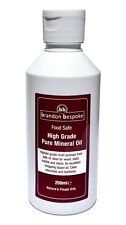 Pure Mineral Oil - Food Safe - Ideal for Wood, Slate & Stone