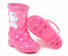 Hello Kitty Kids Waterproof Rain Boots for Girls Pink Foot Care Shoes VIVI Cheap