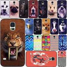 Paint Pattern Phone Case Skins Cover For Samsung Galaxy S3 i9300 S4 i9500 S5