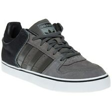 New Mens adidas Grey Culver Vulc Suede Trainers Skate Lace Up