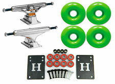 Independent 139 Stage 11 Standard Skateboard Trucks + 52mm Color Wheels Combo