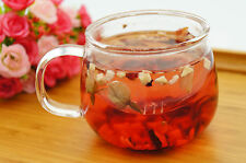 Borosilicate Glass Teacup with Infuser and Lid, Breakfast Cup, Office Tea Mug