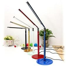 24 LED Adjustable Simple Desk Study Lamp Table US Plug for Home Office Workplace