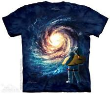 THE MOUNTAIN ASTRO SURF OUTER SPACE ASTRONAUT SURFBOARD GALAXY T TEE SHIRT S-5XL