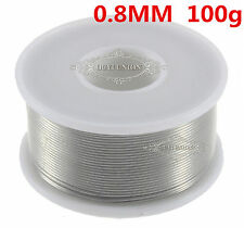 NEW Tin/Lead 63/37 Rosin Core Wire Flux Solder Welding Iron Reel 0.8mm 100g