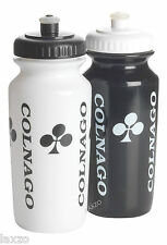 COLNAGO 500ML BLACK AND WHITE WATER BOTTLE ACR0010N FOR BICYCLE BIKE CYCLING