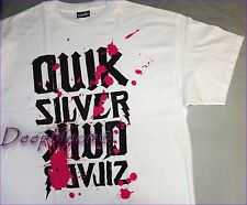 QUIKSILVER TOP TEE SHIRT PRINTED MENS WHITE MEDIUM LARGE XLARGE XXL NEW