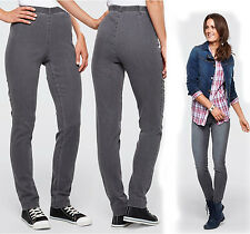 LADIES SKINNY FIT DENIM STRETCHY JEANS WOMENS JEGGINGS TROUSERS PLUS SIZE 8 -30