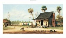 """WILLIAM AIKEN WALKER """"Laundry Day"""" CANVAS ART ! choose SIZE, from 55cm up, NEW"""