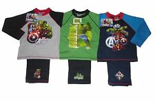 BOYS PYJAMAS HULK OR AVENGERS MIXED CHARACTERS 4 5 6 7 8 9 & 10 YEARS OLD