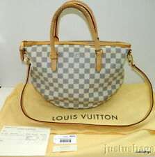 Auth Louis Vuitton Riviera PM Damier Azur Purse Bag w/Receipt,Tags,Bag