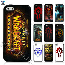 Hybrid TPU+PC Cover World of Warcraft Hot Game For Iphone 5 5s & Samsung S5 Case