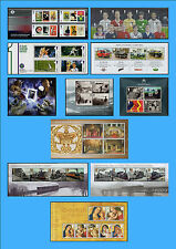 2013-2014 Miniature Sheets, Multi-choice listings, Pick the ones you want - MNH
