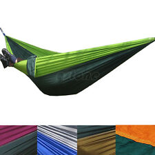 New Parachute Nylon Fabric Hammock Travelling Camping For Double Two Persons