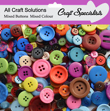 Top Quality  MIXED COLOUR  Buttons / Plastic Buttons / Assorted Buttons