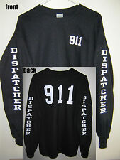 """911 Dispatcher"" Long Sleeve T-Shirt (Sizes S - 5XL)"