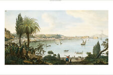 SIR WILLIAM HAMILTON Naples And Vesuvius ON CANVASnew various SIZES, BRAND NEW