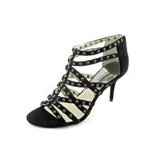 Michael Kors Maddie Jeweled  Womens Suede Dress Sandals Shoes New/Display