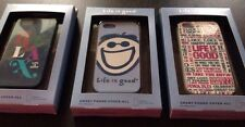 NIB Life is Good SMART PHONE COVER Soft Cell Phone Case for iPhone 5 5s