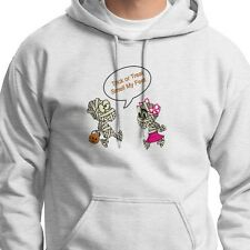 Trick Or Treat SMELL MY FEET Tee Kids Mummies Funny Halloween Hoodie Sweatshirt