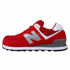 New Balance ML574SGR D Red White Silver Mens Running Shoes Casual Sneakers Encap