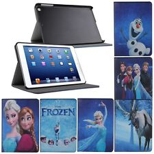 Disney Frozen Character Folding Leather Case Cover For iPad Mini Retina Display