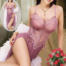 Women Sexy Lingerie Tassel Mini Dress Charm Underwear Sleepwear Valentine Gift