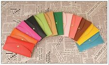 New ! Candy-colored snaps long section of women's wallets purse card package