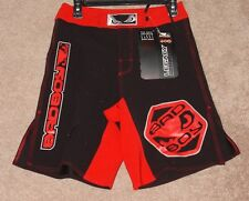 Bad Boy Legacy MMA Fight Shorts - Black/Red - NEW