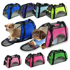Pet Carrier Cat/Dog Carry On Travel Tote Bag Purse Smal Animal Airline Big Size
