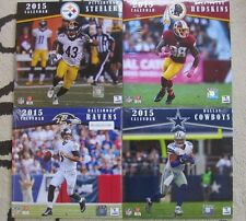 "2015 NFL CALENDARS 10""X10""- *YOU PICK*  STEELERS,REDSKINS,COWBOYS  XMAS"