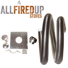 """Flexible Flue Liner Installation Kit 4 For Multifuel Wood Burning Stove 5"""" To 6"""""""