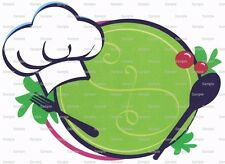 Chef Theme ~ Frosting Sheet Cake Topper Edible Image ~ D2284