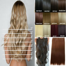 Thick 3/4 Full Head 125g clip ins clip in hair Extension Curly Wavy Straight ssn