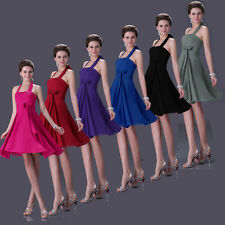 CLEARANCE Women Sexy Short Bridesmaid Party Evening Cocktail Homecoming dresses