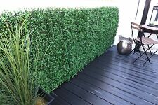 Boxwood green artificial hedge Topiary Tiles