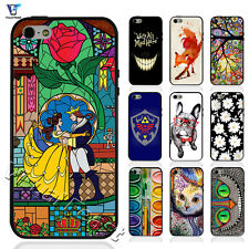 Alice In Wonderland Cat TheLittle Mermaid Phone Case For Iphone 4s TPUPC Hybrid