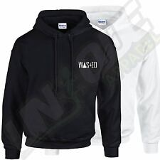 WASTED BREAST LOGO HOODED TOP HOOD TUMBLR HIPSTER COCAINE DOPE SWAG HYPE FASHION
