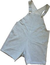 Baby Pants Adult Size Choo Choo Stripe Shortalls with Snap Crotch Diaper Changes