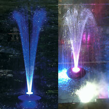 Floating Water Fountain 48/96 LED Light Ring 2500L/H UL Water Pump Super-Bright